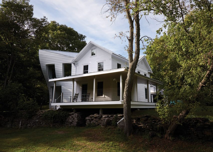 Twisted Farmhouse by Tom Givone