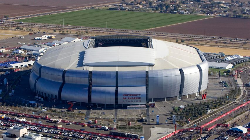 University of Phoenix Stadium by Peter Eisenman, Glendale, Arizona