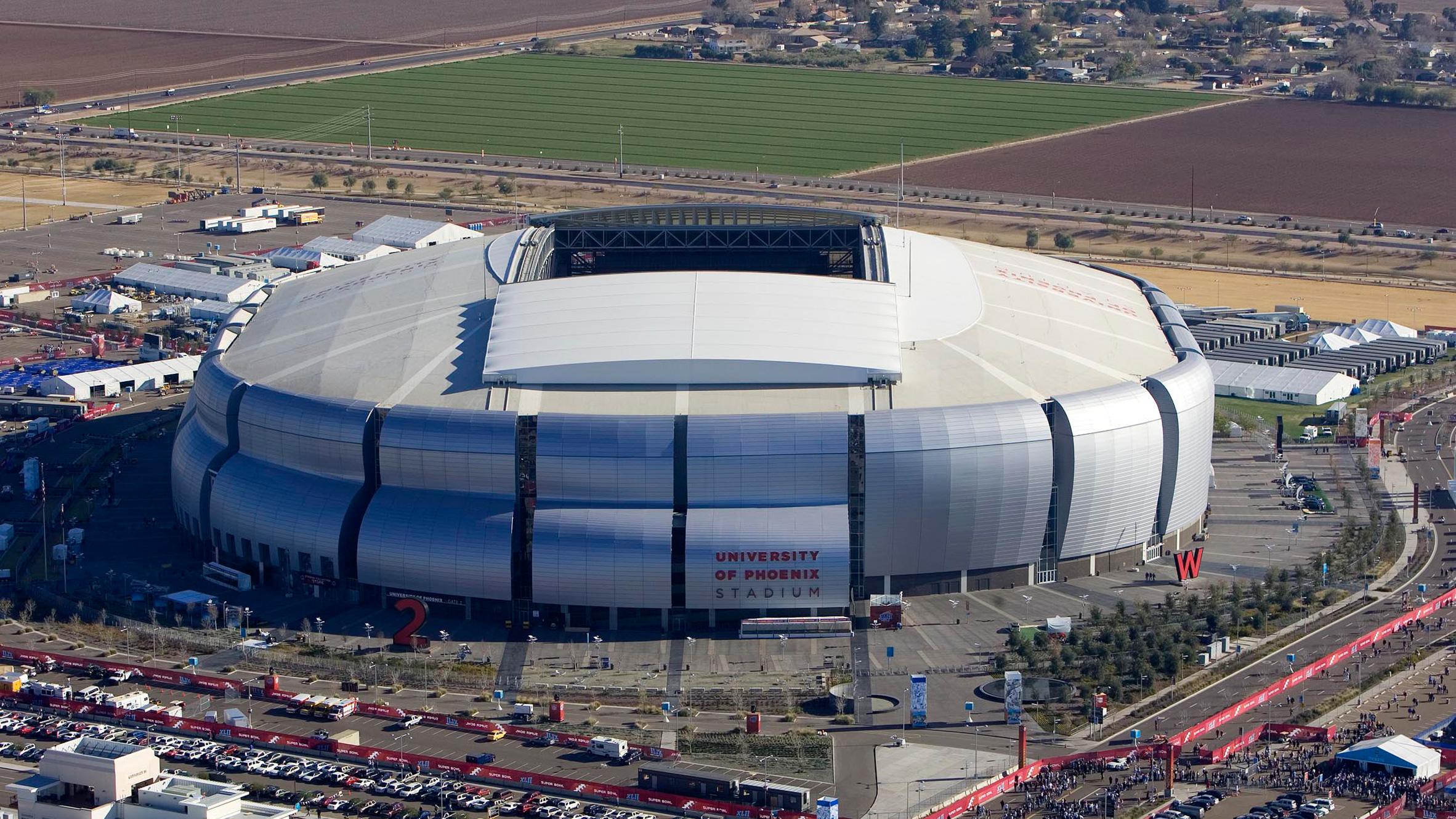 University of Phoenix Stadium by Peter Eisenman, Glendale, Arizona