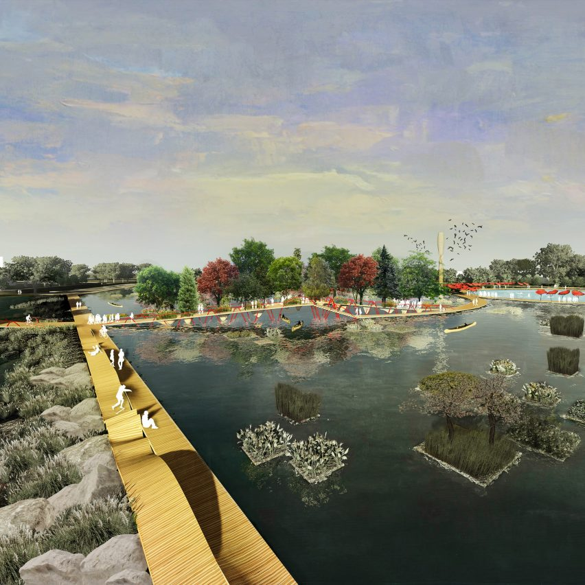 Urban Watershed Framework Plan: A Reconciliation Landscape for Conway, Arkansas, by University of Arkansas Community Design Center