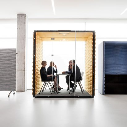 Vanku0027s Soundproof Pods Offer Private Workspaces For Open Plan Offices