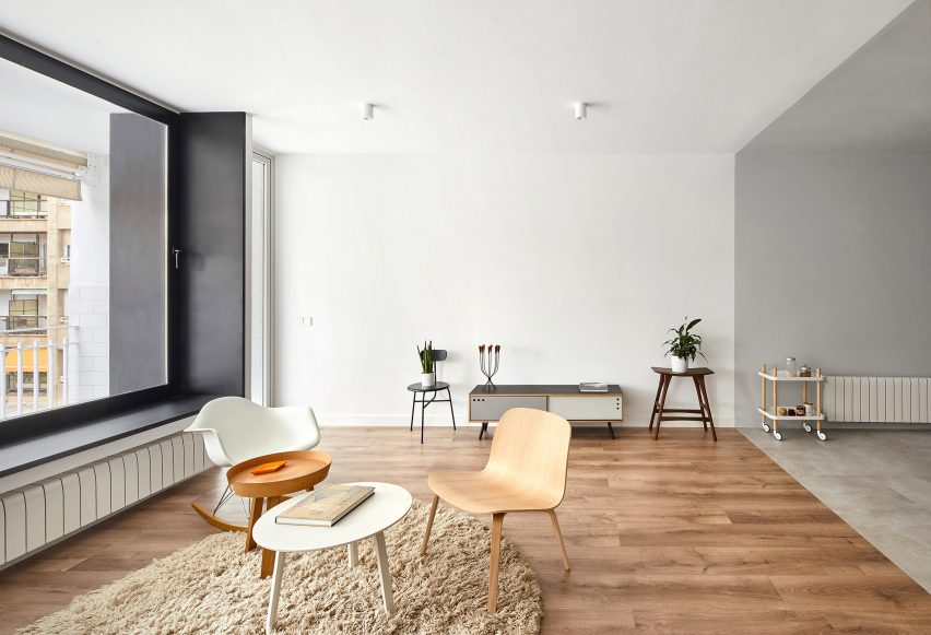 Villarroel apartment by Raul Sanchez Architects