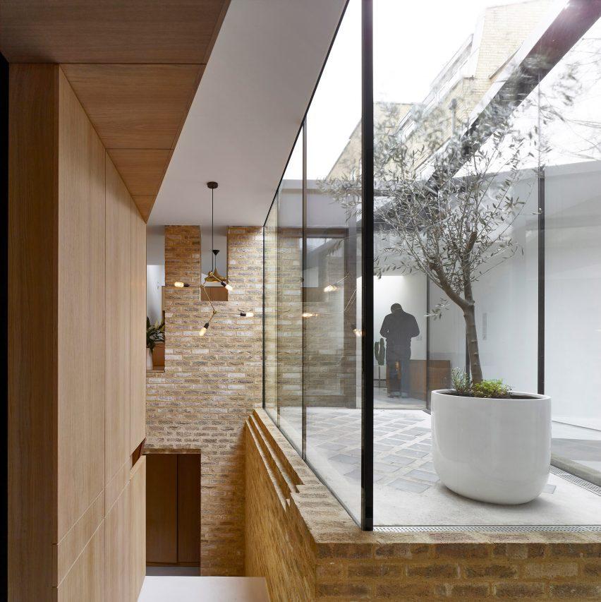 Hayhurst Uses Glazed Atrium To Illuminate Interior Of Compact London