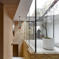 Hayhurst and Co uses glazed atrium to illuminate interior of compact south London home