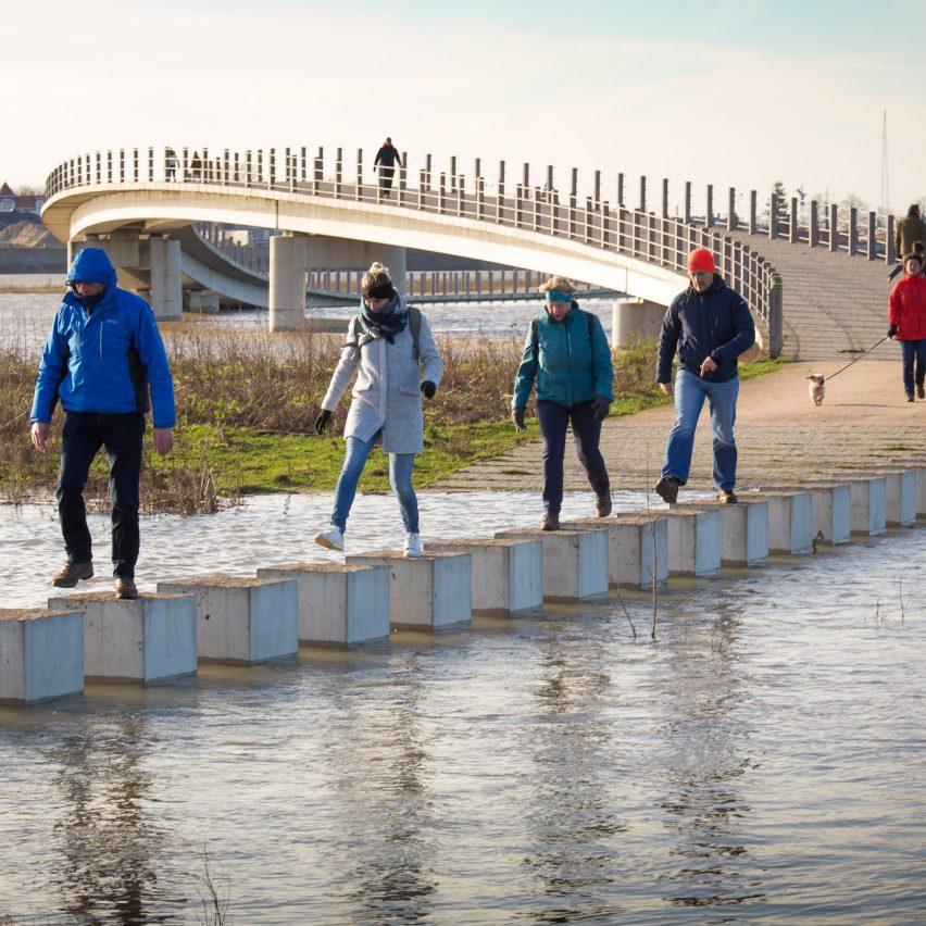 Zalige bridge by Next Architects