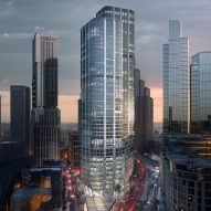 Pair of London skyscrapers by Zaha Hadid Architects split opinion