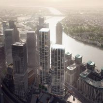 Vauxhall towers by Zaha