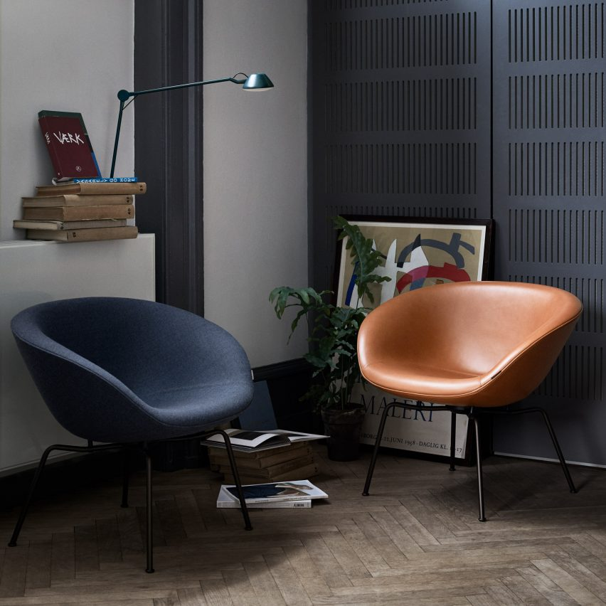 Pot Chair by Arne Jacobsen, 1959 - Mid-century furniture designs relaunched at Stockholm Design Week