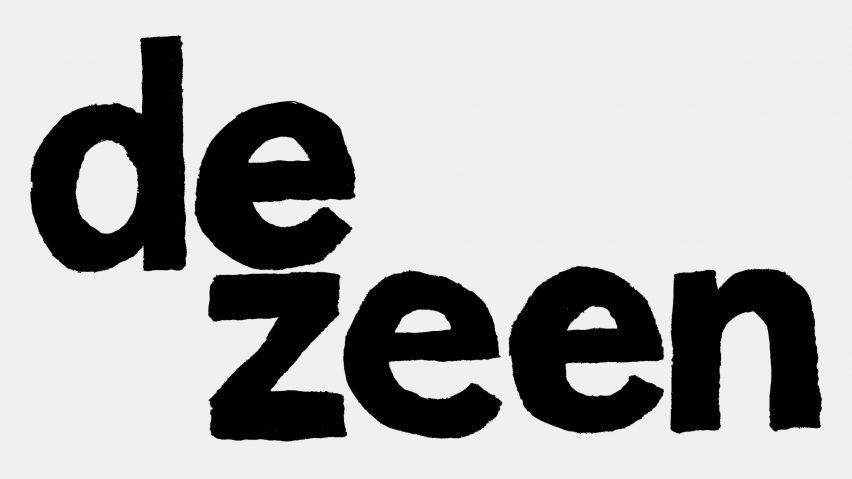 Dezeen logo drawn by Jean Jullien