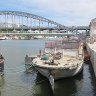 Le Corbusier-designed barge sinks in Seine flooding