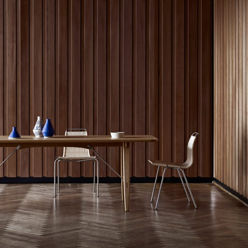 Hunting Table by Børge Mogensen, 1950 - Mid-century furniture designs relaunched at Stockholm Design Week
