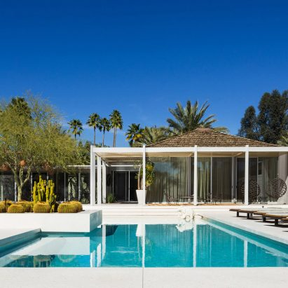 William F Cody Designed Abernathy House For Poolside Parties In Palm Springs