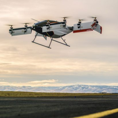 Airbus' self-piloted air taxi takes to the skies