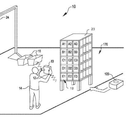 Amazon archives dezeen amazon patents wristband to track productivity and direct warehouse staff using vibrations publicscrutiny Image collections