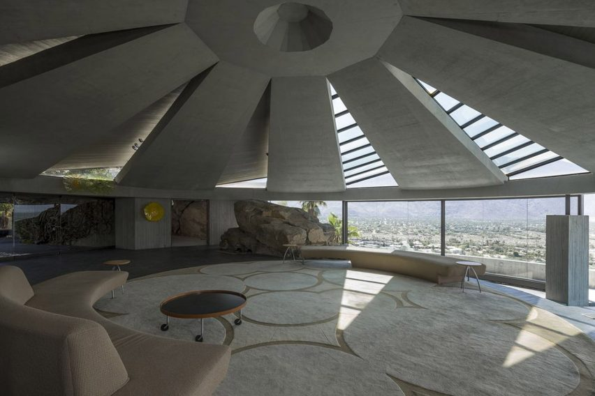 Modern Home Elrod House by John Lautner