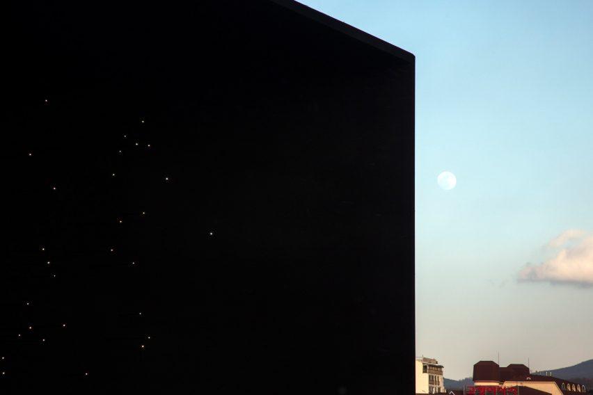 Asif Khan reveals super-dark Vantablack pavilion for Winter Olympics2018