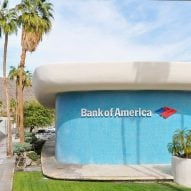 Modernist Bank of America in Palm Springs is modelled on a Le Corbusier chapel