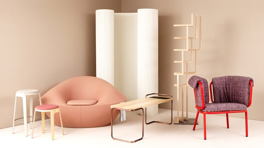 Students Team Up With Six Swedish Brands To Create Furniture Collection