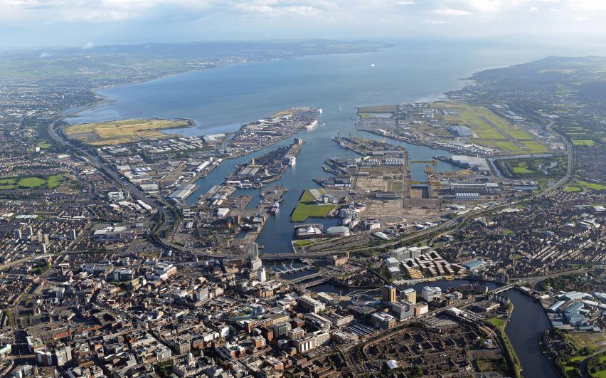 Belfast harbour by Henning Larsen