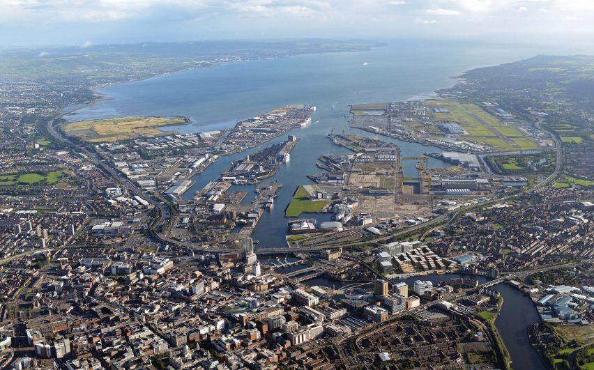Belfast harbour by Henning Larsen