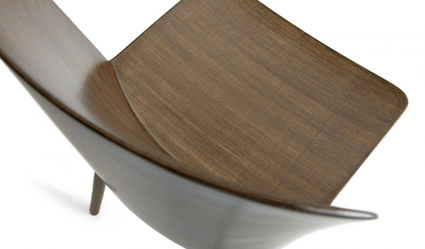 Kuramoto Devised A Method That Involves Building And Shaping Thin Flax  Fibre Layers On Top Of Each Other To Form Both The Seat And Frame.