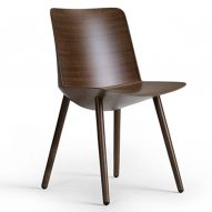 Chair made from flax fibres and bio-resin named best product at Stockholm Furniture Fair
