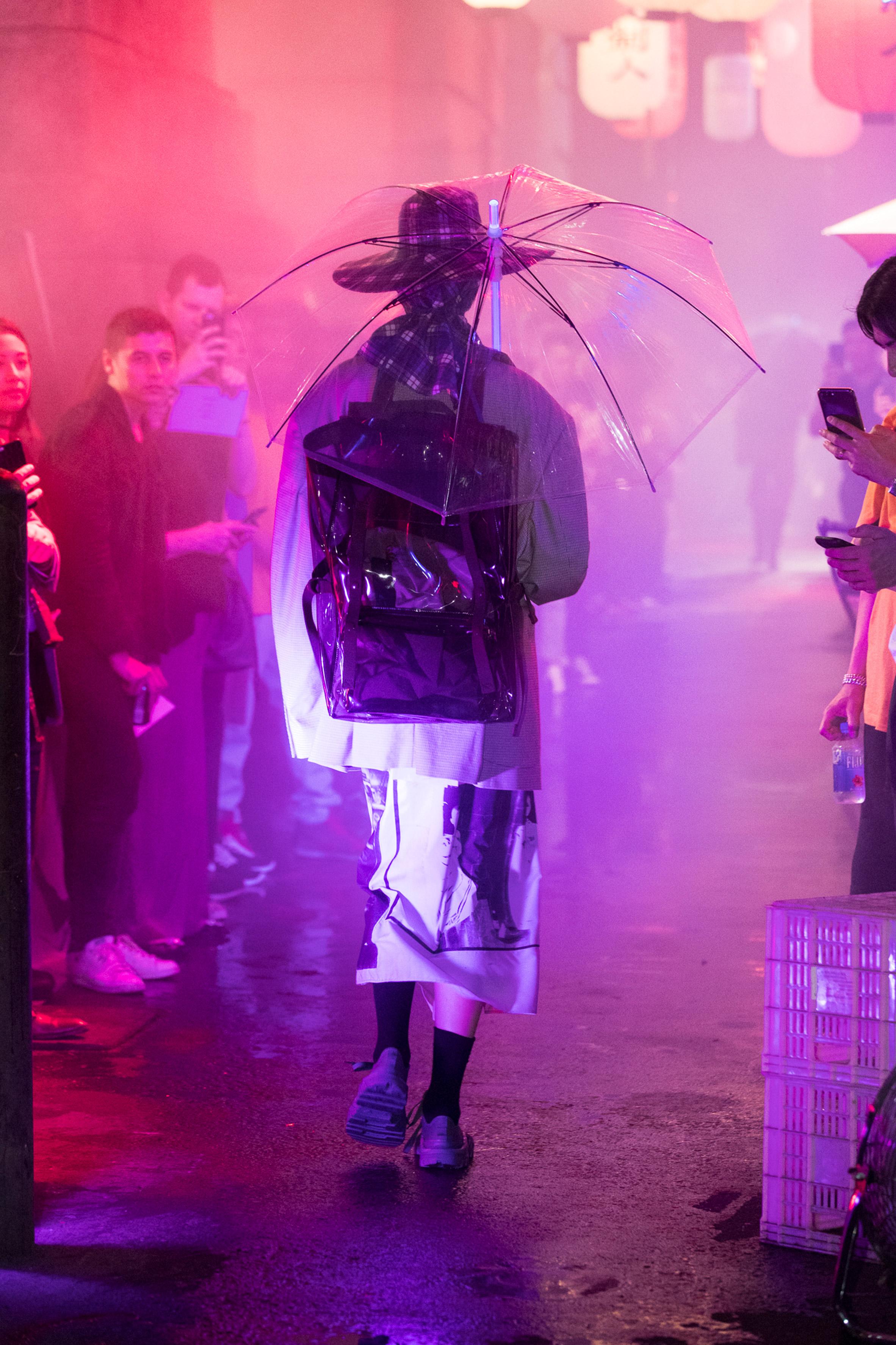 383947facd5f Raf Simons designs Blade Runner-style bags for Eastpak