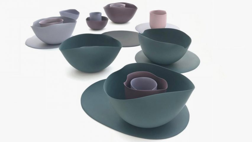& Seo-Yeon Park bases porcelain tableware on Georgia O\u0027Keeffe paintings
