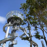 Aventura Slide Tower by Carsten Höller
