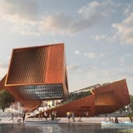 UNStudio plans new cultural centre with rooftop cinemas for Paris