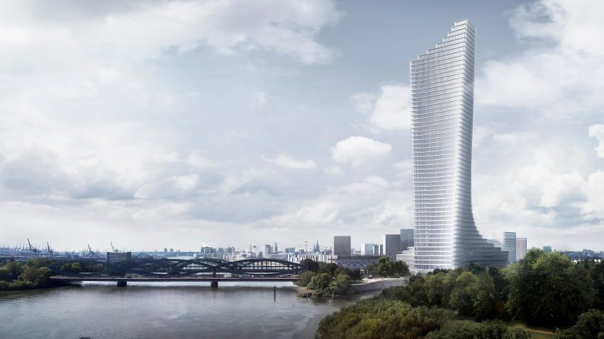 David Chipperfield wins competition to design Hamburg's tallest tower
