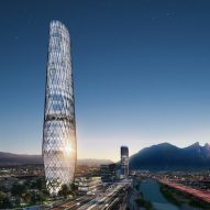 Sordo Madaleno designs elliptical latticed skyscraper for Monterrey