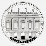 David Chipperfield designs £5 coin to mark Royal Academy of Arts' 250th anniversary