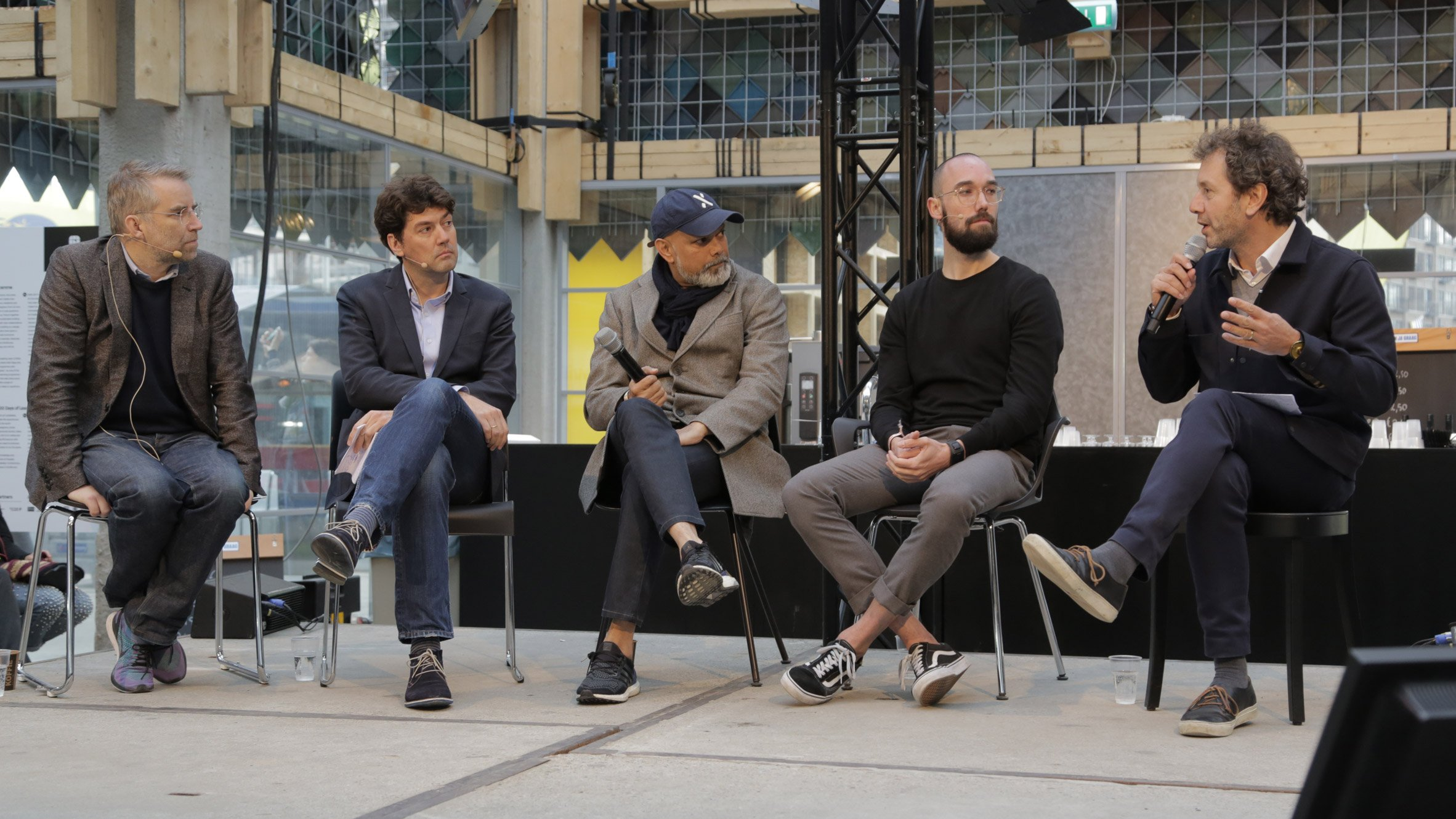 Design can help change the system, say speakers at Dezeen's politics talk