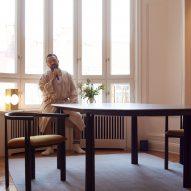 De La Espada showcases furniture in theatrical performance inside century-old Stockholm flat