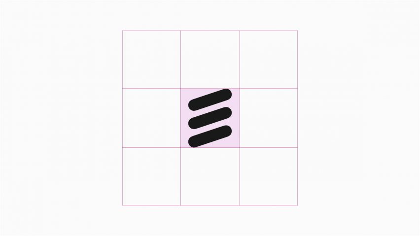 A S Design ericsson s three sausages logo refined for digital users