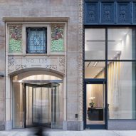 GRT Architects restores facade and overhauls lobby of New York's Fashion Tower