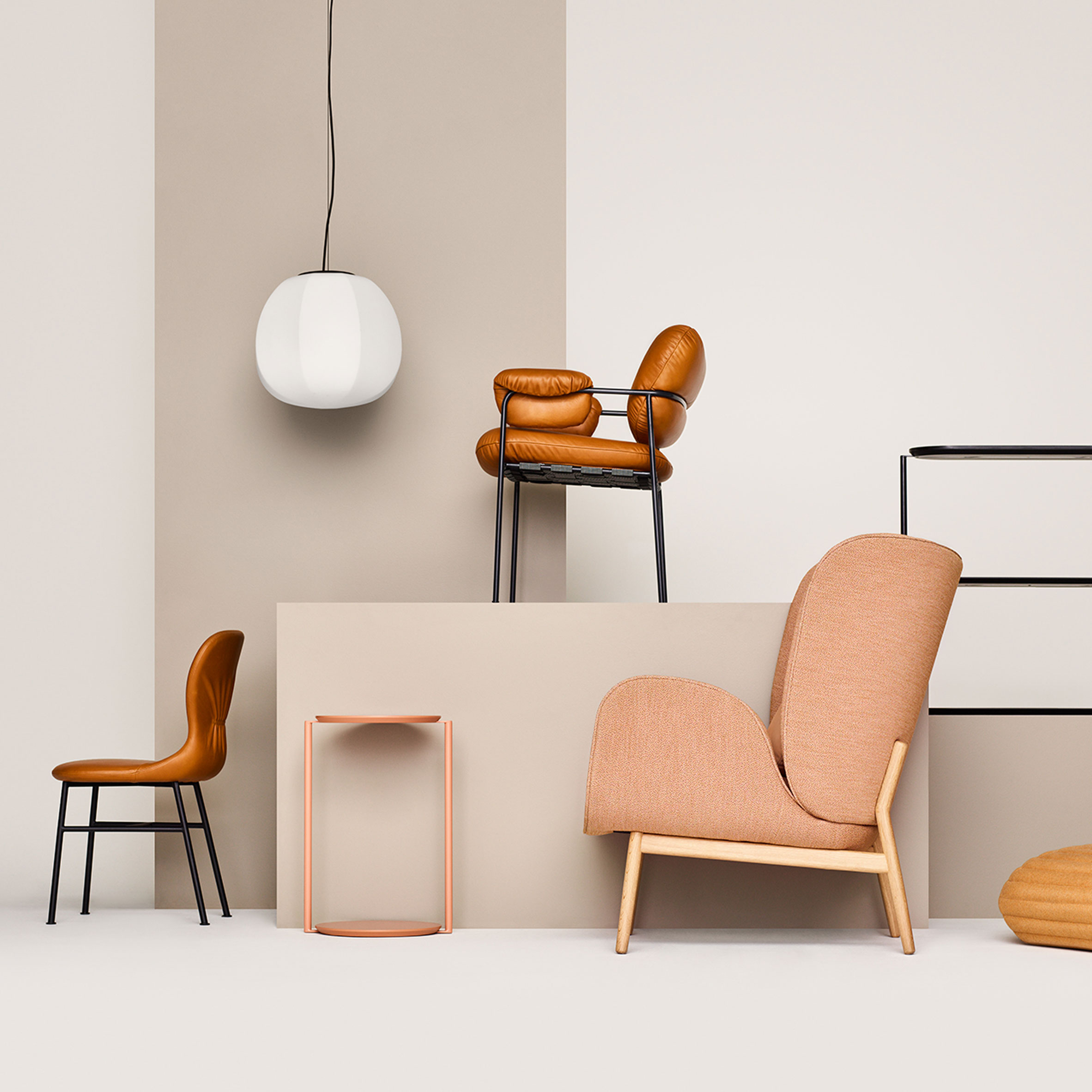 Fogia launches furniture collection that pays homage to the 1970s
