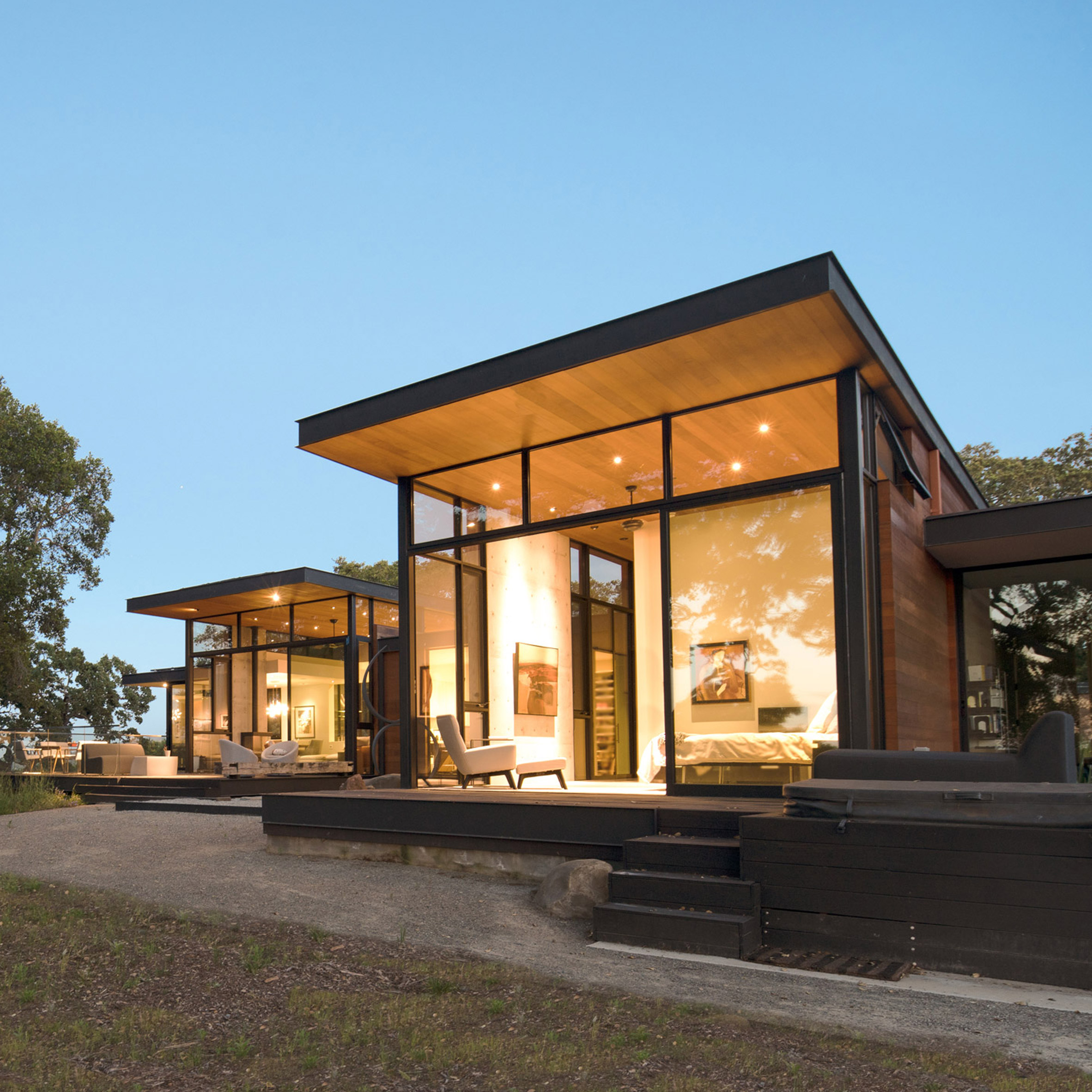 Oak Trees Inform Design Of Northern California Home By Field Architecture