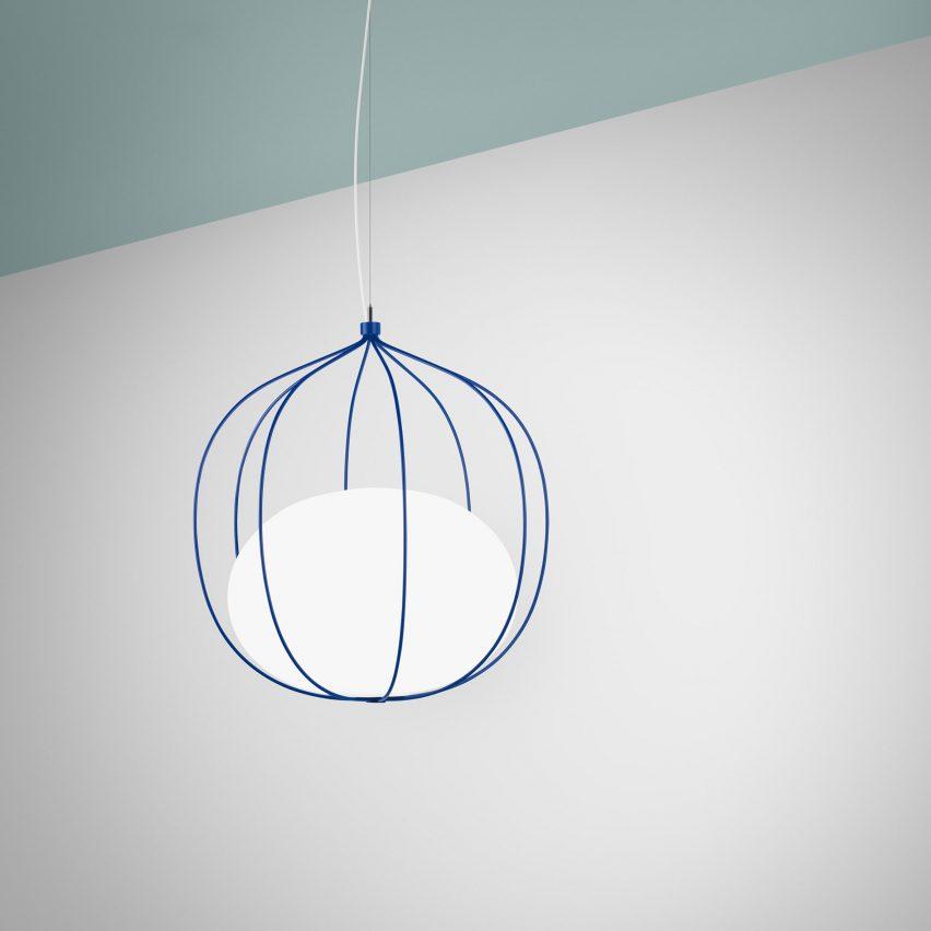 Front's new light pendant, Hoop