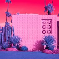 Kate Ballis' infrared photography displays California modernism in vivid hues