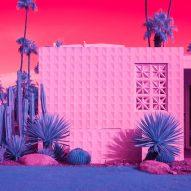 Kate Ballis' infrared photography displays California modernism in vivid hues