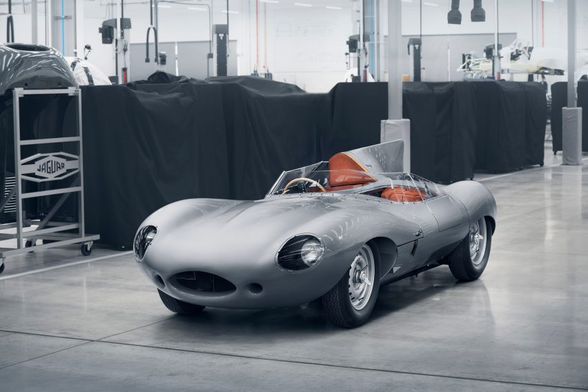 Jaguar to resume production of its iconic D-type racing car