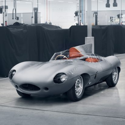 Jaguar Resumes Production Of Its Iconic D Type Racing Car
