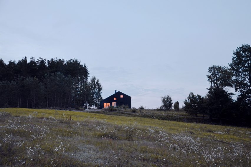 Kashubian House by Grzegorz Layer