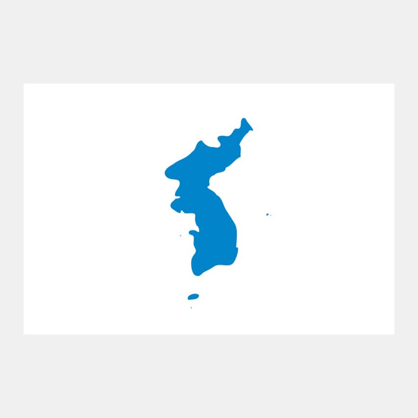 Korean unification flag is under fire from protesting Japan   Dezeen