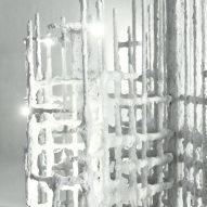 Lara Bohinc designs Jesmonite lighting collection to look like unearthed relics