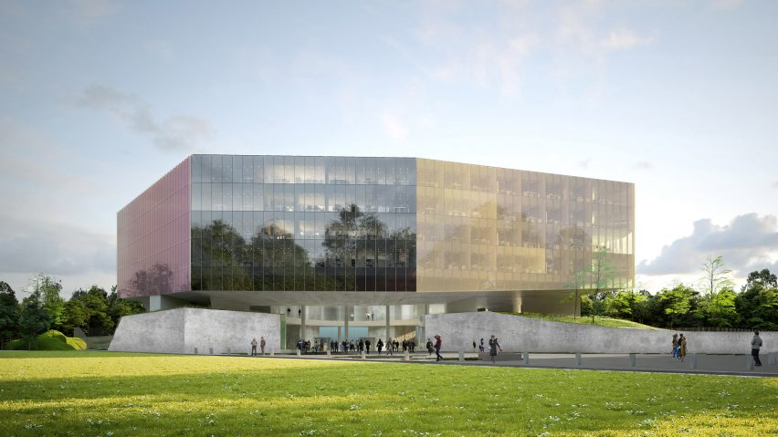 Lille courtroom by OMA