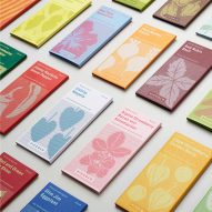 Piccolo seed packaging rebranded to look like miniature book collections