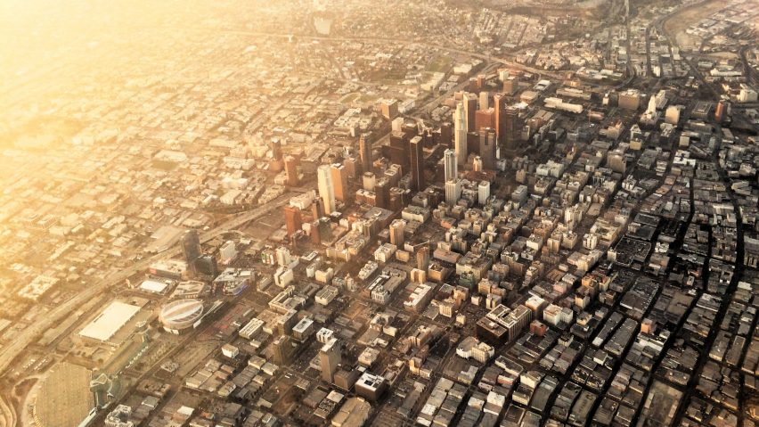 Los Angeles aerial view